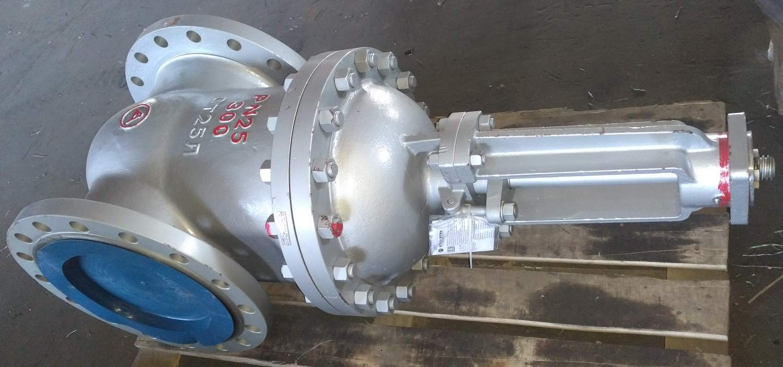 Задвижка стальная под электропривод 30с964нж Ду-300